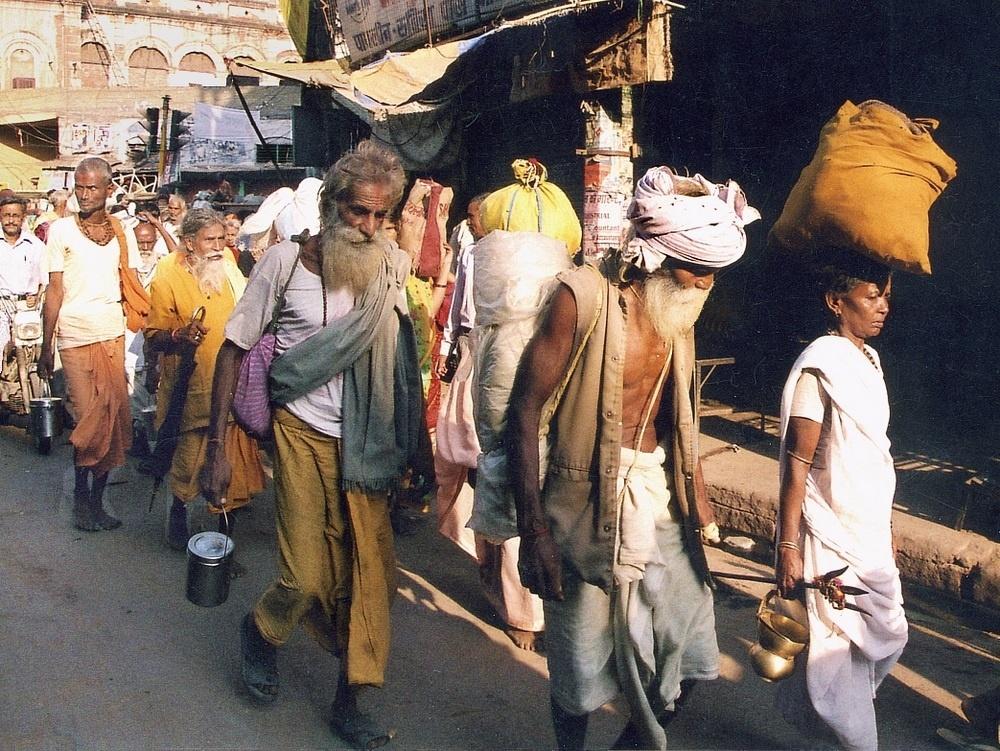 Benares Varanasi Scene de rue