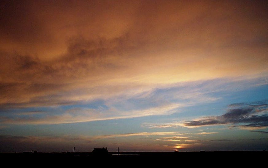 Benbecula sunset