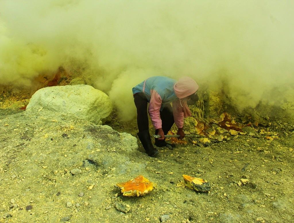Beneath A Cloud of Gas