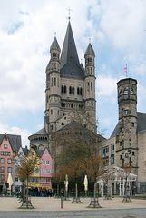 Benediktinerkirche ST. MARTIN in Köln
