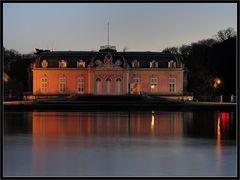 Benrather Schloss Vorderseite