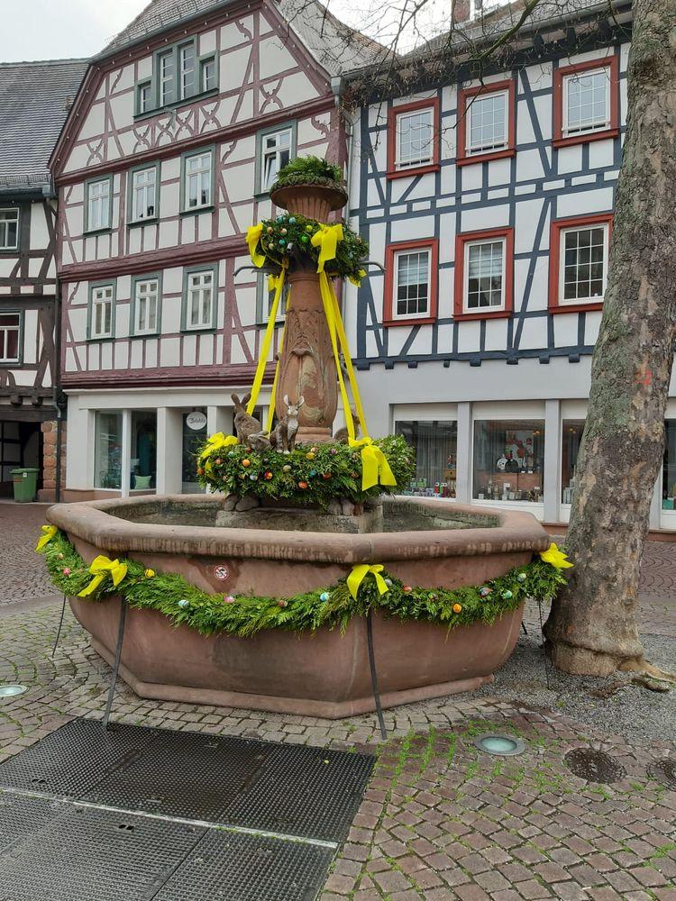 Bensheim - Bürgerwehrbrunnen