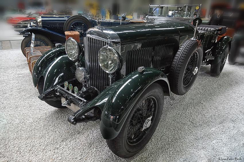 Bentley 8 ltr. Open Tourer
