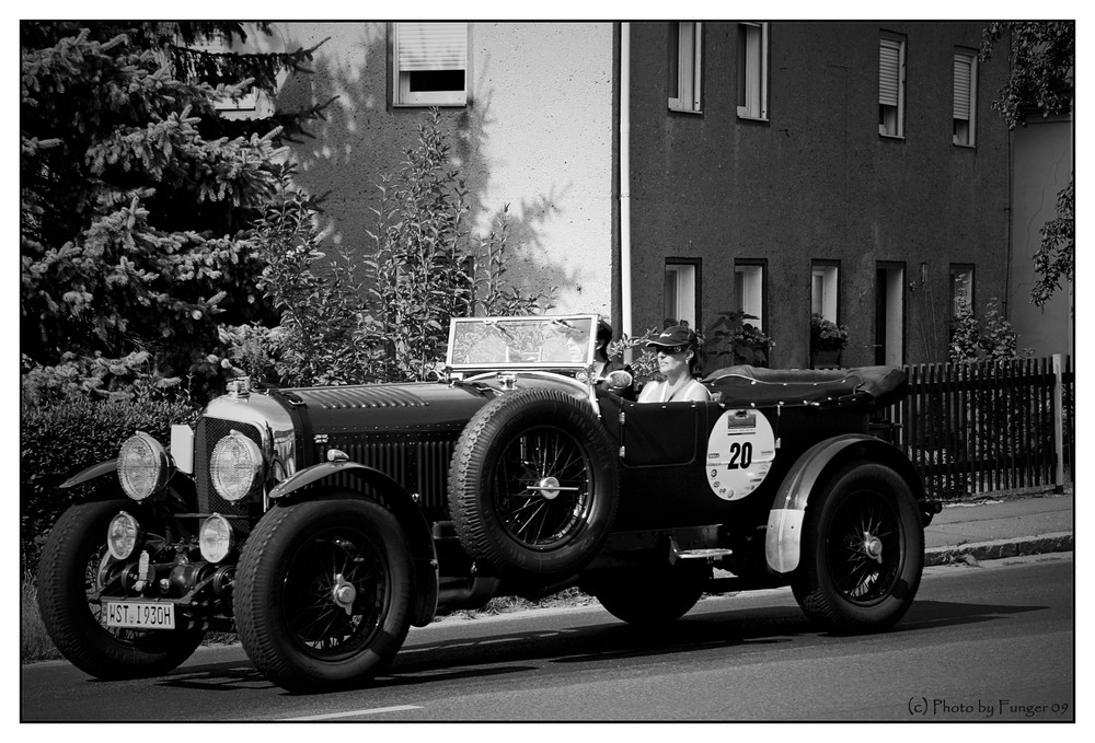 Bentley Le Mans bei der Sachsen Classic 2009