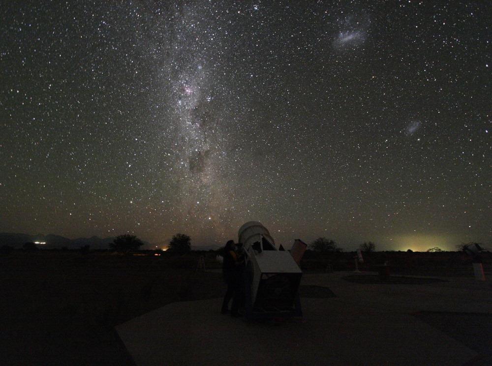 Beobachten unter südlichen Sternen in Chile