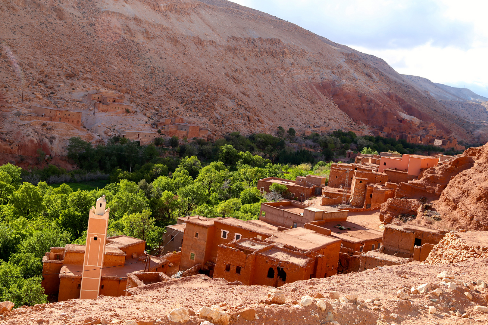 Berber Dorf Taguendouchte