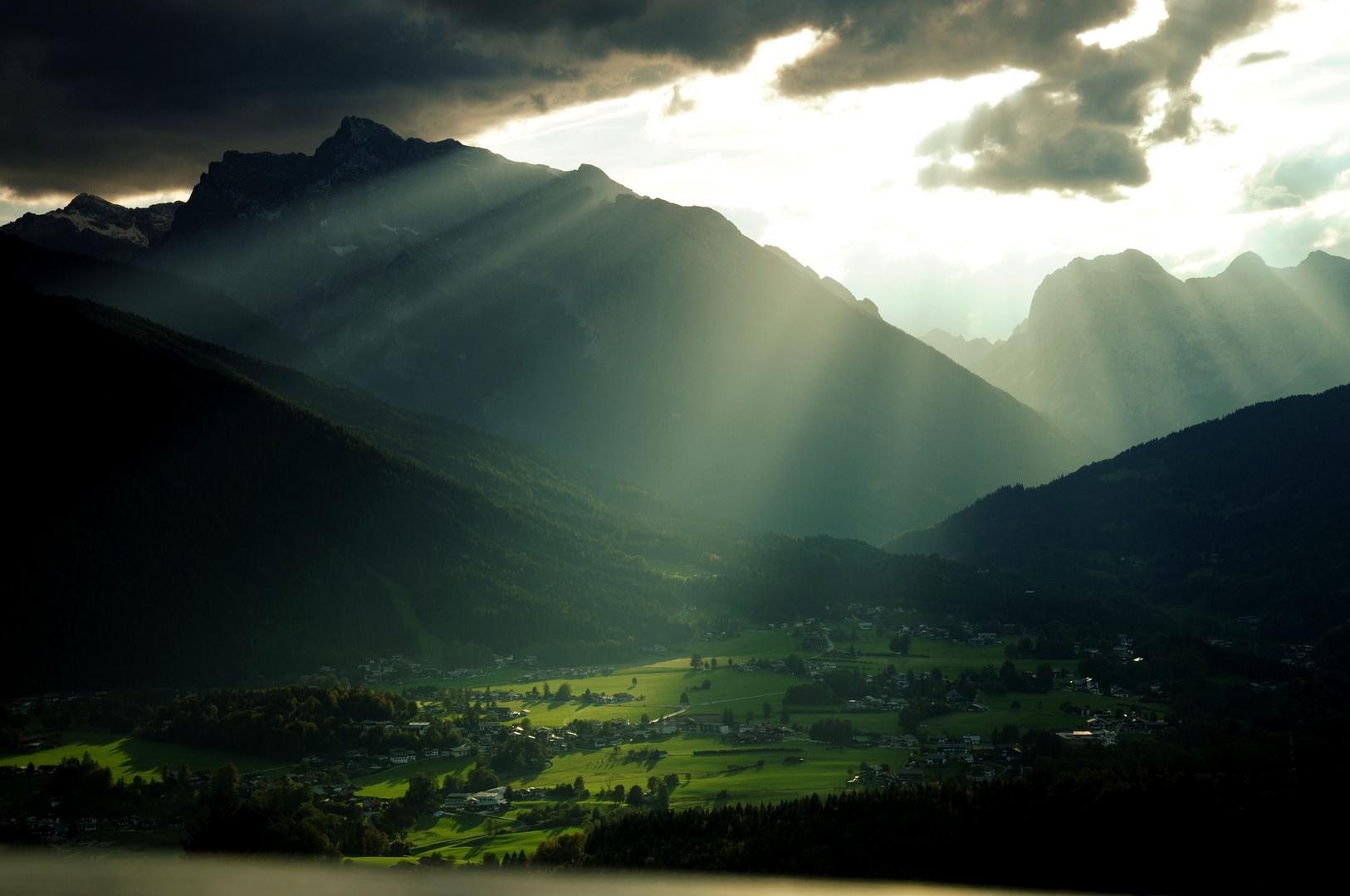 Berchtesgaden im Licht