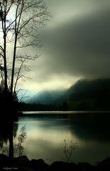 Berchtesgadner Land - Hintersee bei Wetterumschwung