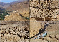 Berg im Wadi Bani Khalid