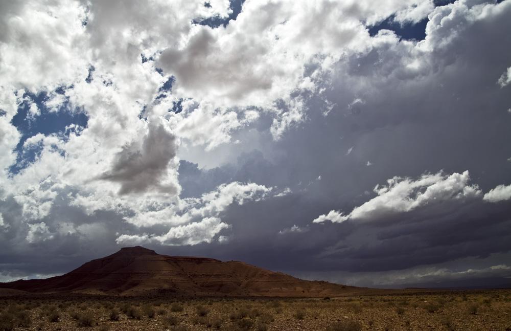 Berg in der Marokkanischen Halbwüste: Zeitraffer