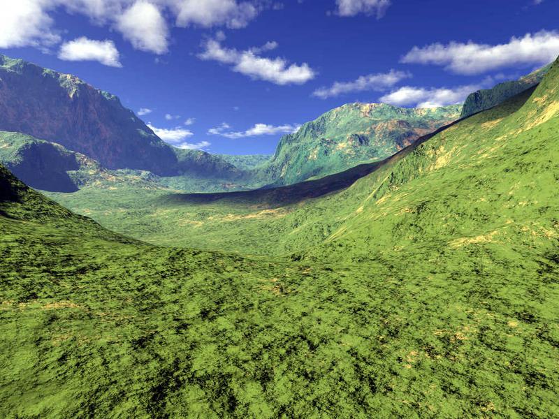 Berg-Landschaft (2)