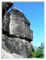Berg Oybin - Gipfelkreuz
