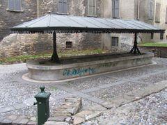 Bergamo: Waschanlage - nicht für Autos!