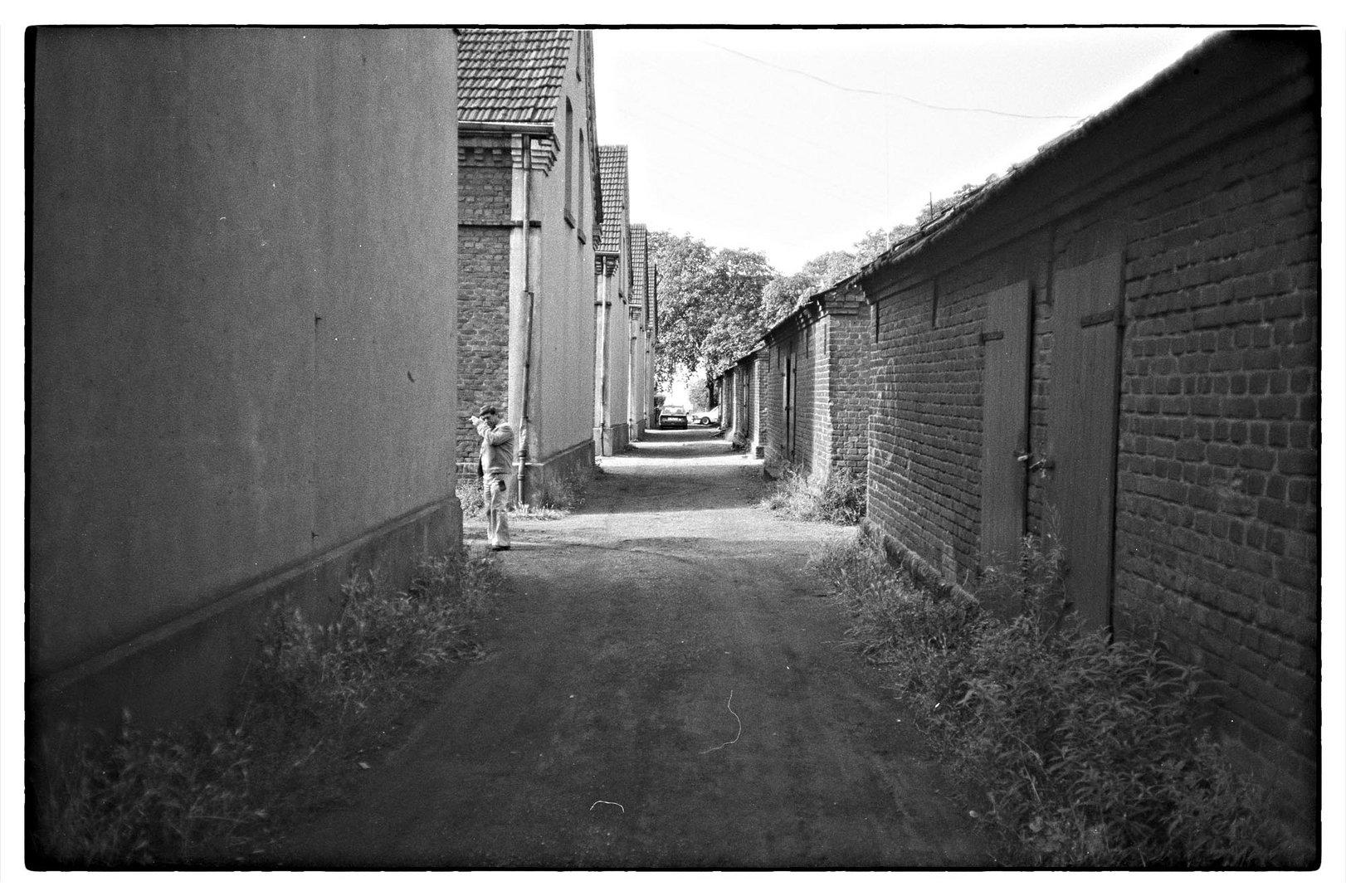 Bergarbeitersiedlung, Dinslaken 1986