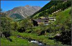 Bergbauernhof im Schnalstal (Südtirol)