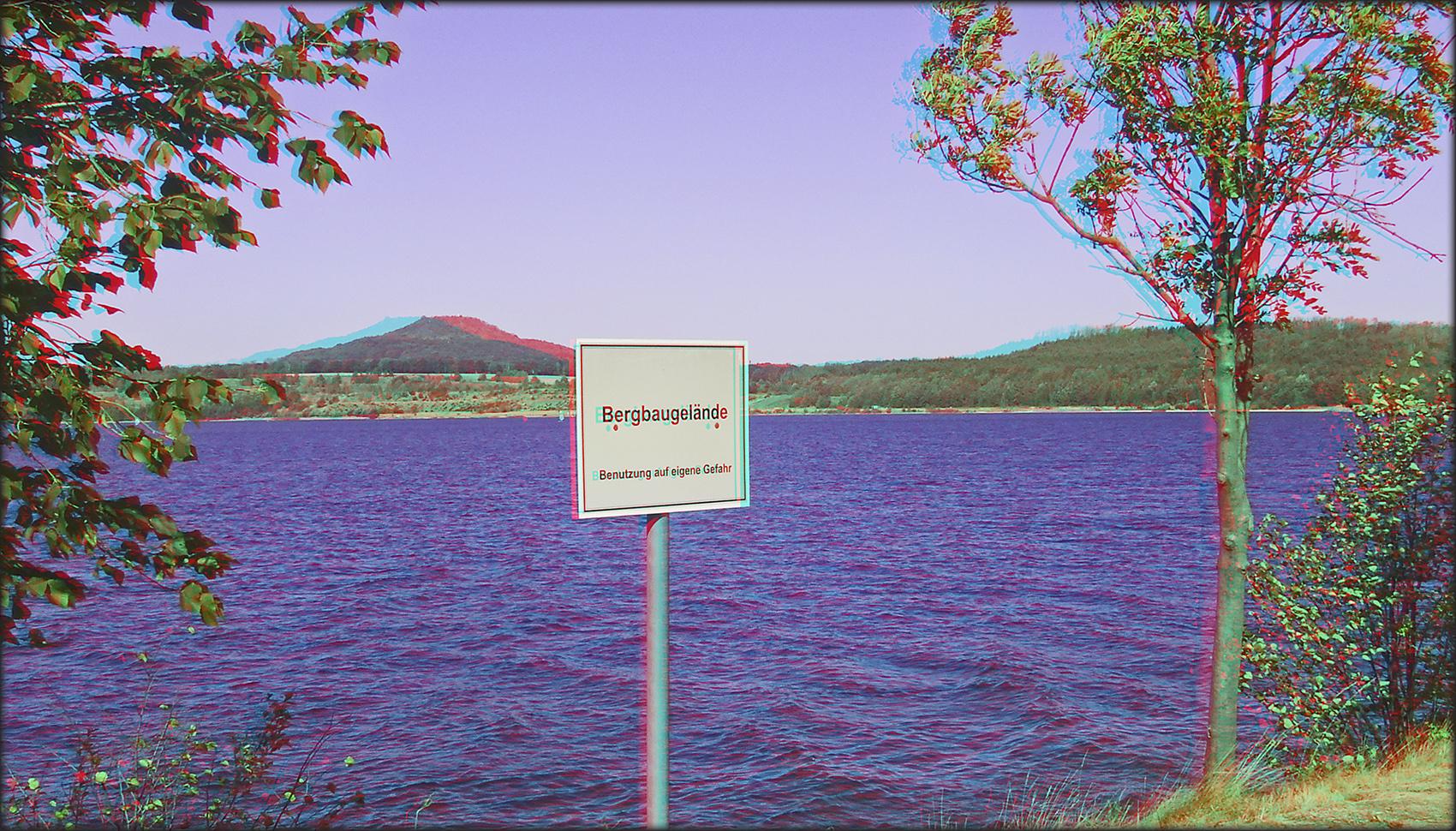 Bergbaugelände bei Görlitz (3D)