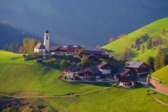 Bergdörfchen in Südtirol
