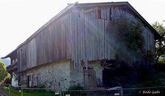 Bergdoktorhaus von hinten