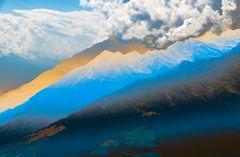Berge bei Meran