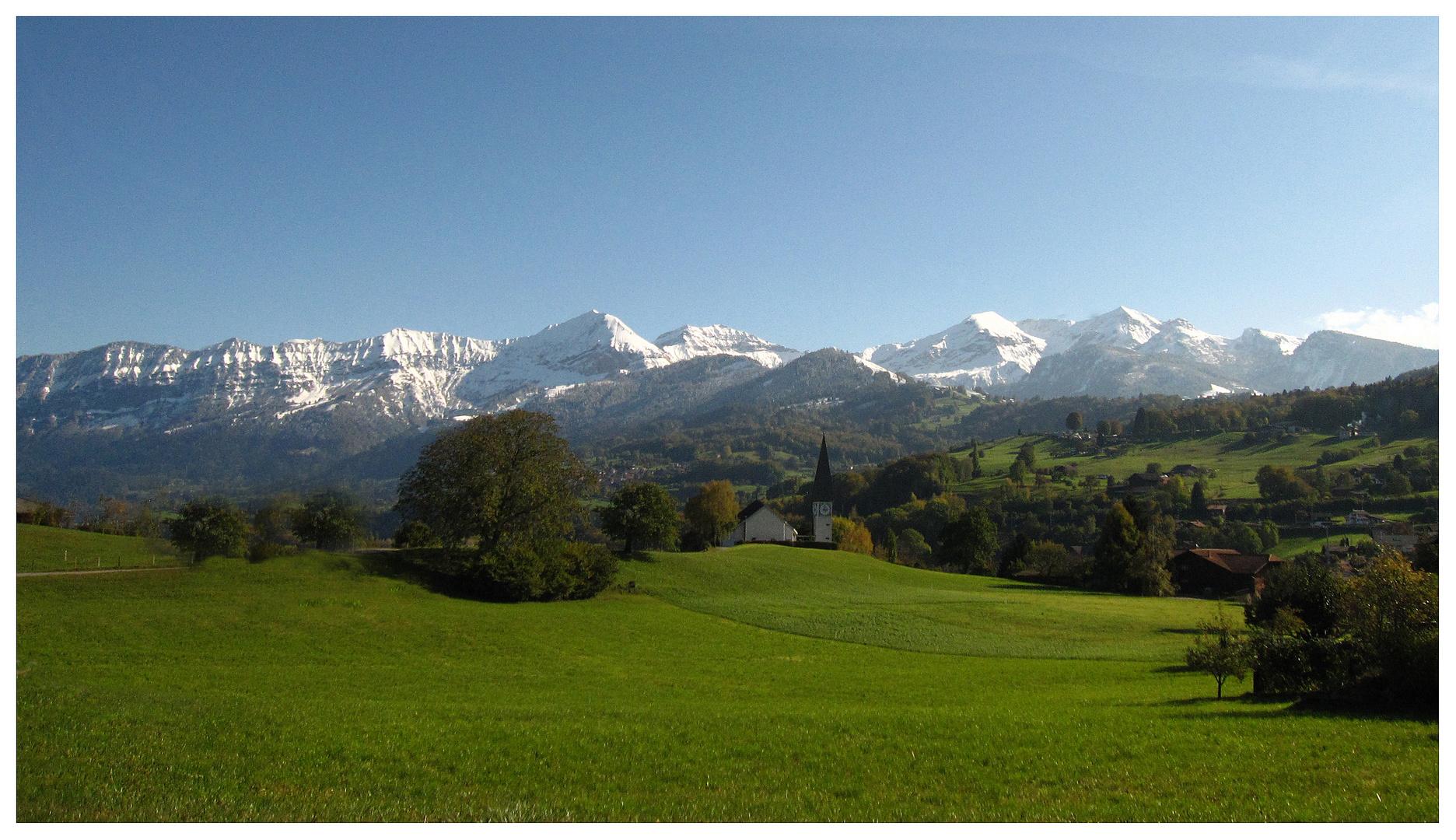 Berge im Berner Oberland