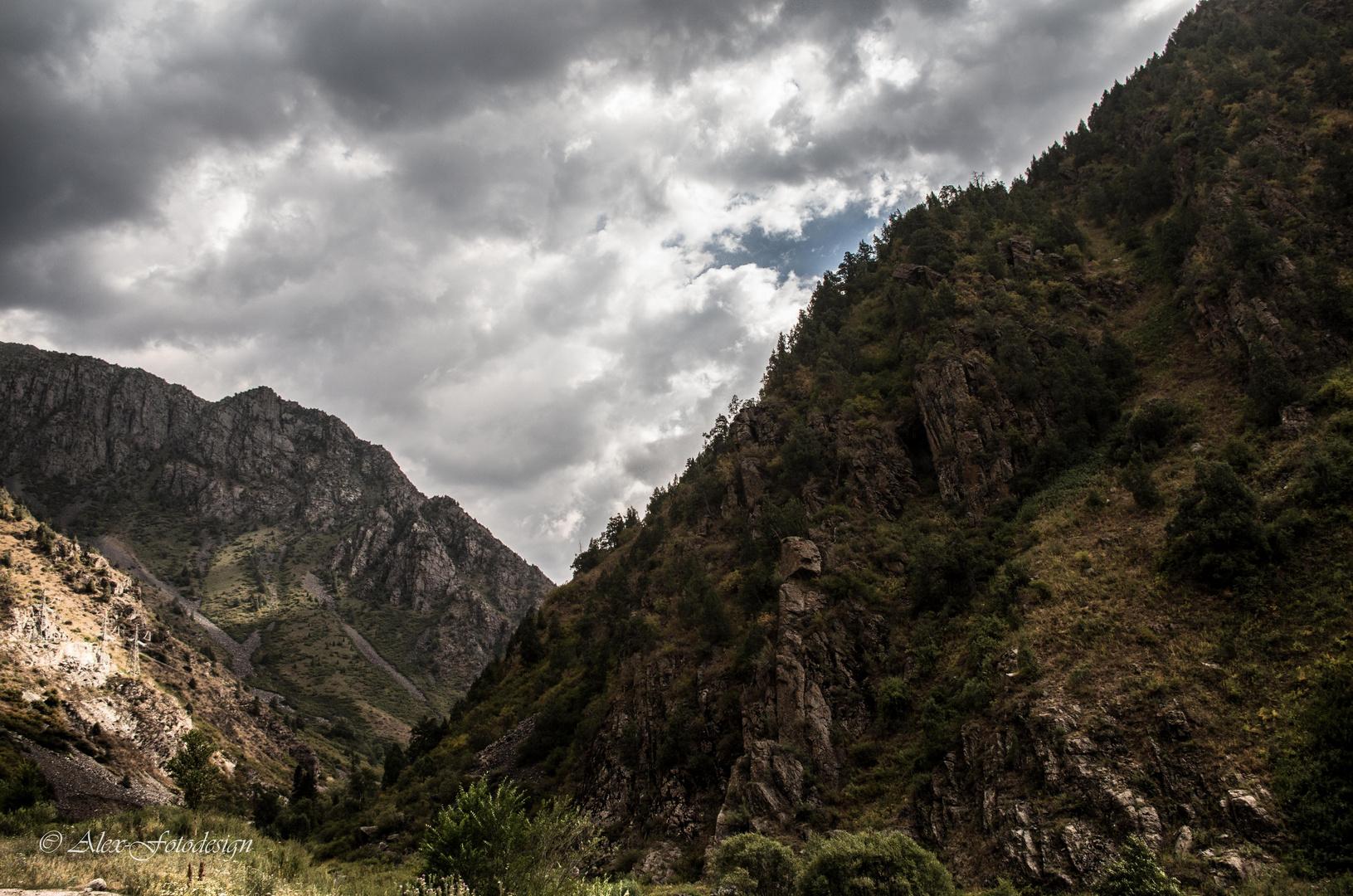 Berge in Kirgisien