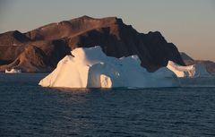 Berge und Eis