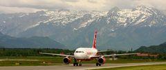 Berge und Flieger in Salzburg