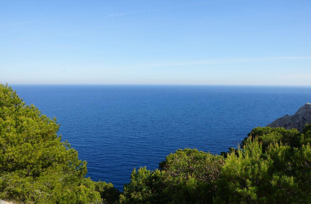 Berge Von Mallorcas Nordostküste