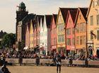 Bergen in Norwegen mit seiner herrlichen Altstadt