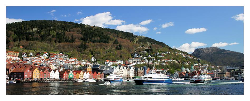 Bergen - Vågen (Frühling)