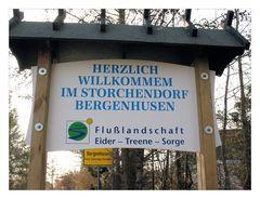 Bergenhusen das Storchendorf