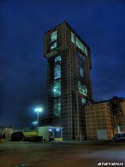 Bergerk Ost Hamm Pelkum bei Nacht
