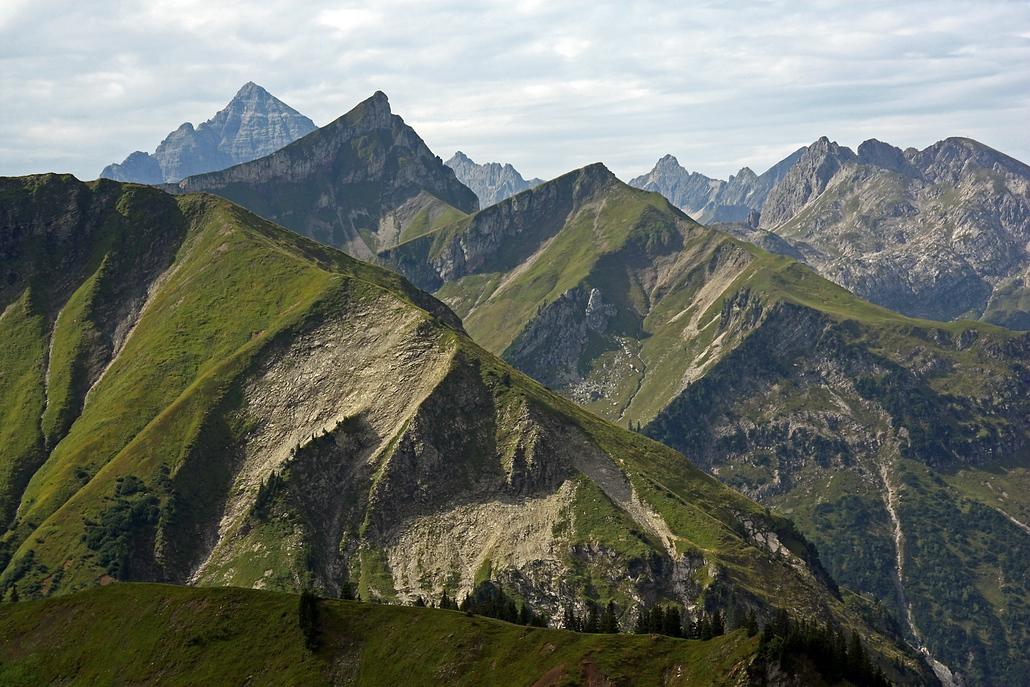 Bergfalten