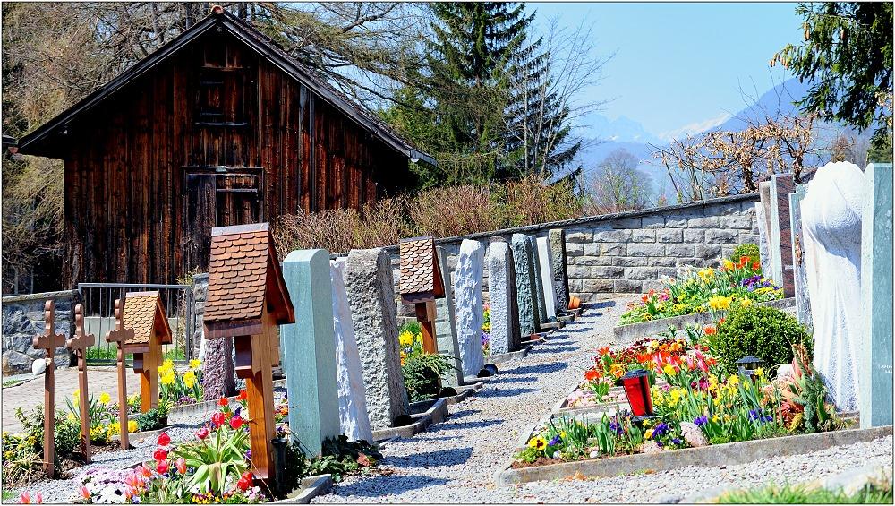 ... Bergfriedhof ...