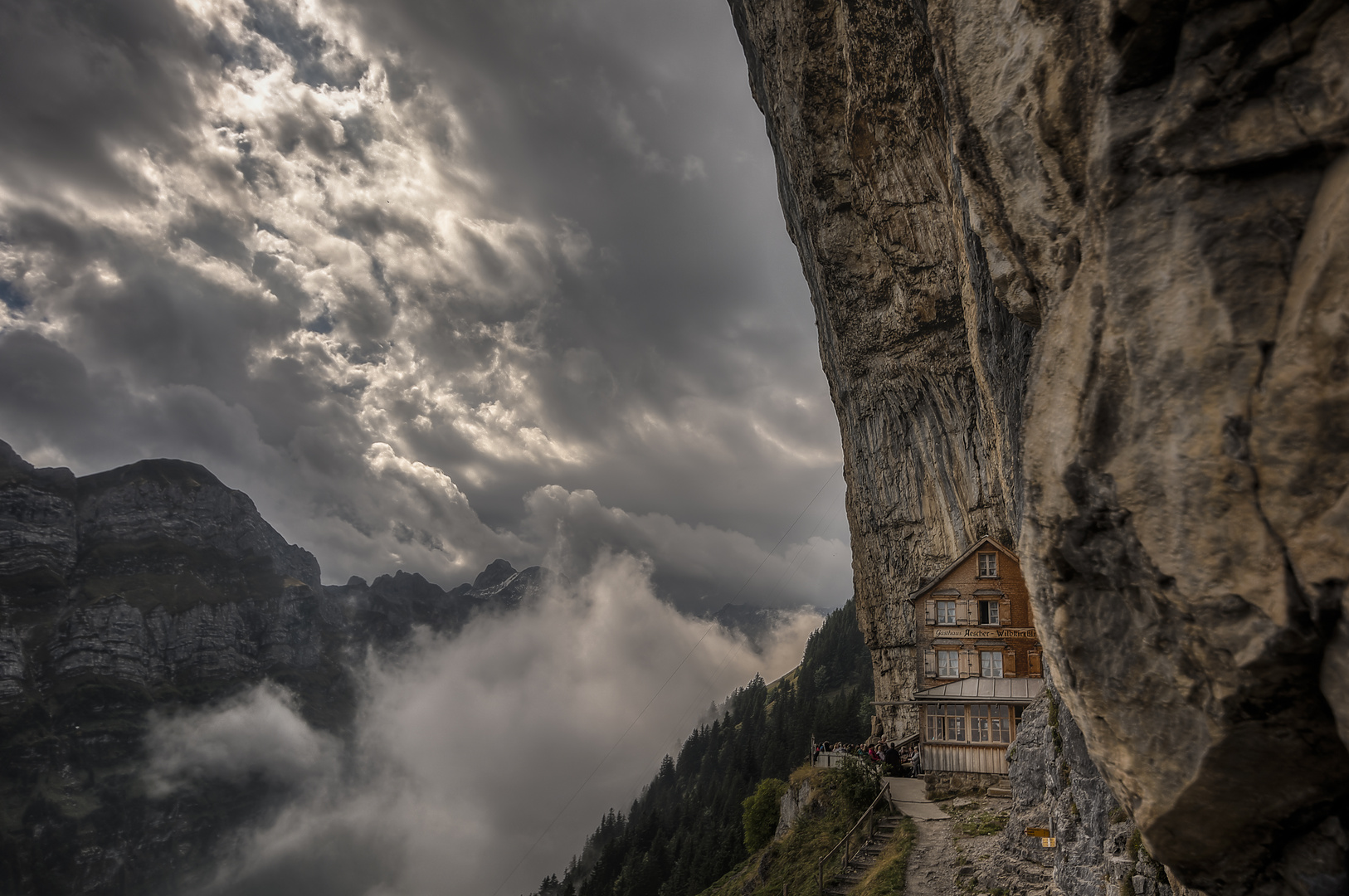 Berggasthaus Aescher @Appenzell