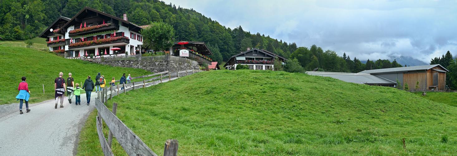 Berggasthof Hochleite, Oberstdorf 1196 m
