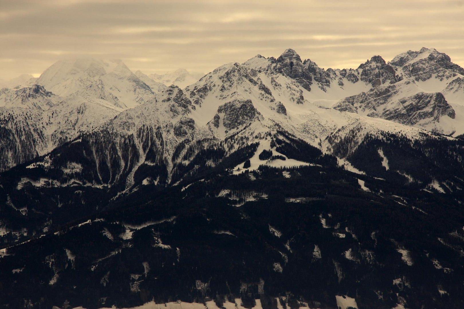 Berggipfel bei Innsbruck