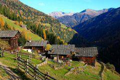 Berghöfe im Ultental