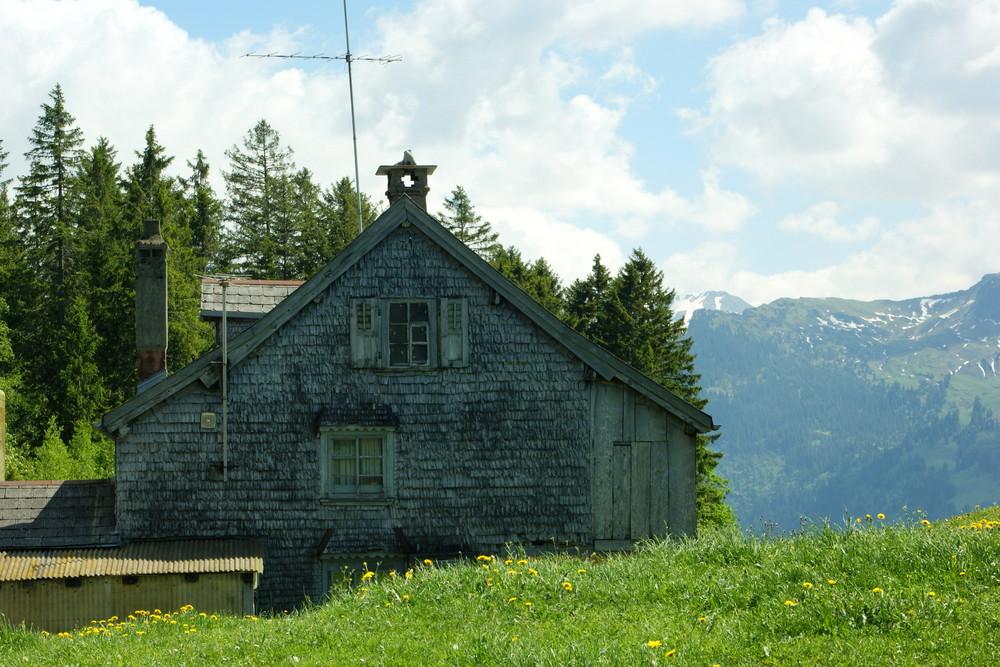 Berghöfe und Hütten 1