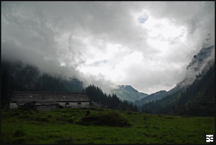 Berghütte Murgtal