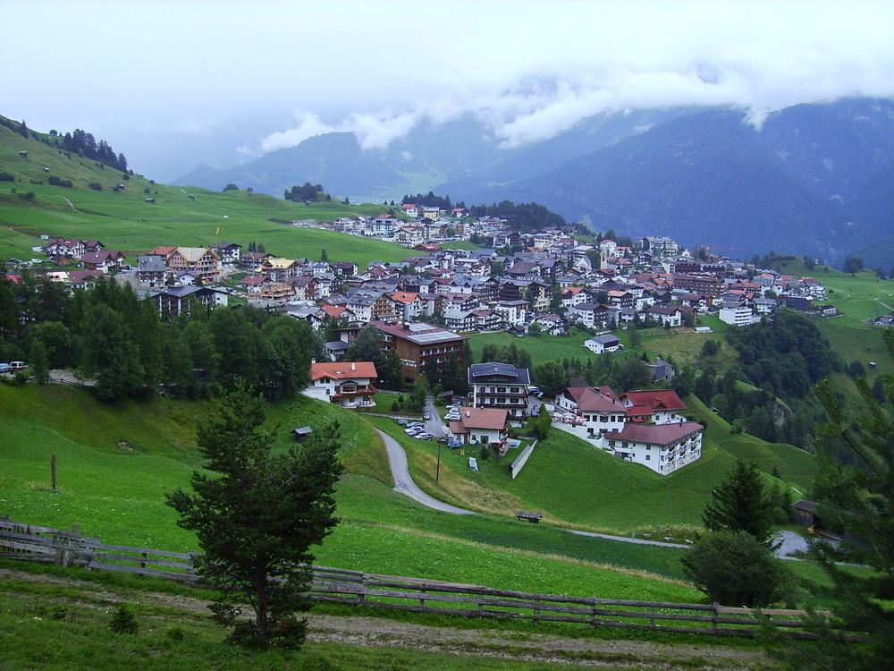 Bergidyll in Serfaus