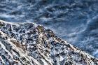 Bergkamm bei Davos in HDR
