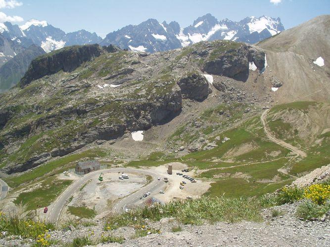 berglandschaft in südfrankreich