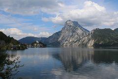 Berglandschaft-Traunsee