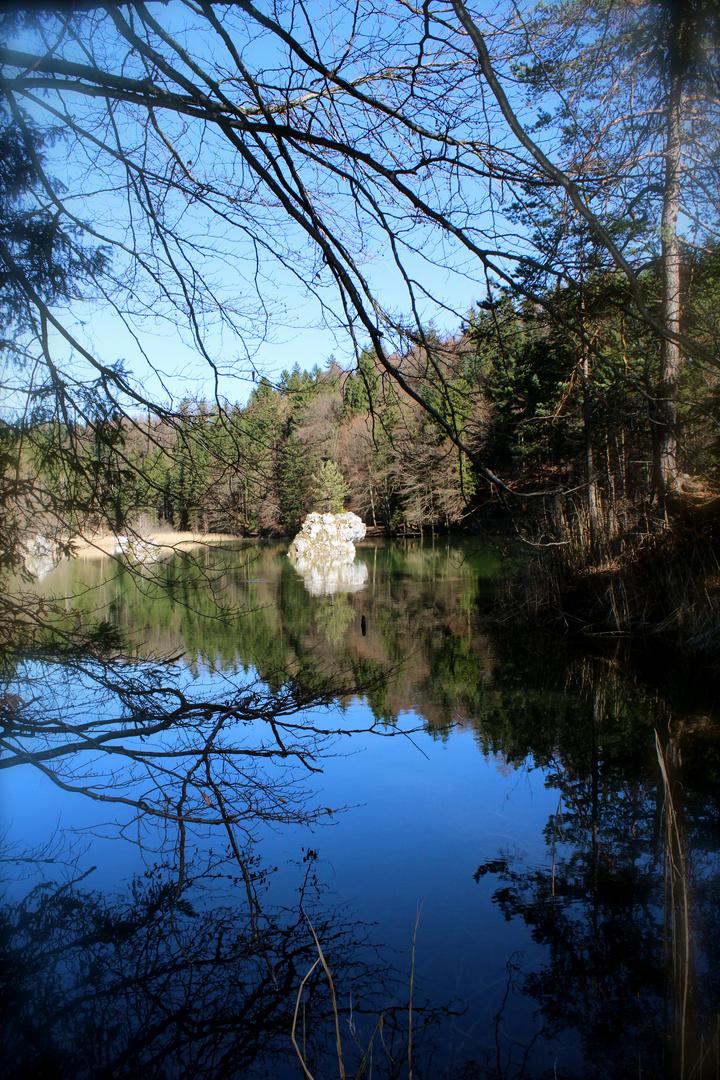 Berglsteiner See im Frühling :-)