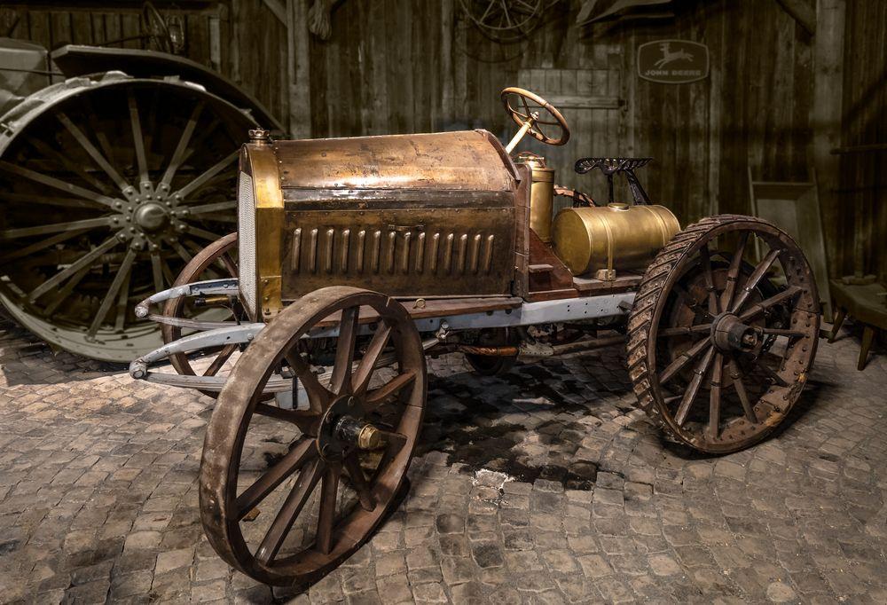Bergmann Traktor 1906