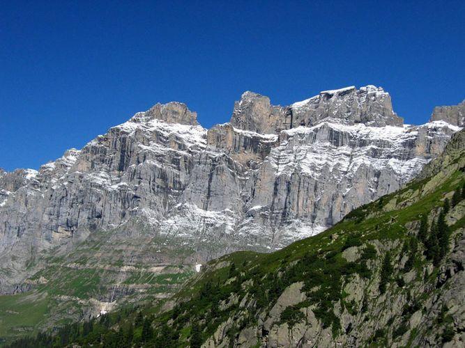 Bergmassiv am Sustenpass