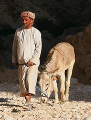 Bergnomade aus dem Oman