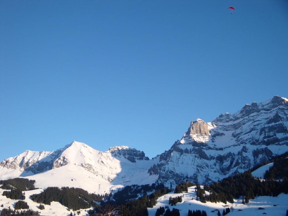 Bergpanorama Adelboden