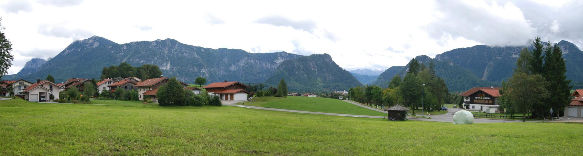 Bergpanorama bei Inzell